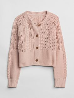 Pink Cardigan, Cropped Cardigan, Sweater Cardigan, Baby Kids Clothes, Clothes For Women, Autumn Winter Fashion, Winter Wear, Knit Jacket, Pull