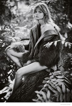 Magdalena Frackowiak Models Fall Outerwear for Mixt(e) by Emma Tempest