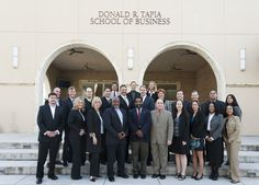Saint Leo Launches First DBA Degree Program Cohort Twenty-two highly accomplished professionals accepted into Saint Leo University's inaugural Doctor of Business Administration (DBA) program cohort began their doctoral studies at University Campus during the week of Dec. 30-Jan. 3, attending their first on-ground intersession at the Donald R. Tapia School of Business.