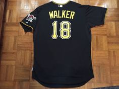 84ed76beb0c 2013 pittsburgh pirates neil walker game used worn autod jersey mlb holo  size 48 from  675.0