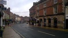 Morpeth, quaint old English street