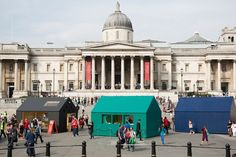 "A highlight of last month's London Design Festival was an innovative collaboration with Airbnb called ""A Place to Call Home"". The exhibition brought together designers Jasper Morrison, Studio Ilse, Raw Edges and Patternity to each create their own interpretation of 'home' in Trafalgar Square.  www.fibonaccistone.com.au"