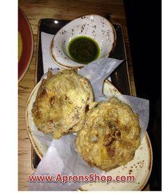 Fried Artichokes from Lupo Verde Washington DC.