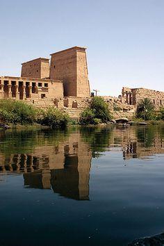 TEMPLO DE FILAE en Asuán dedicado a la diosa ISIS.