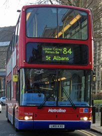 Image result for london bus routes 84