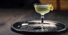 Coronation Cocktail No. 1 1 oz Fino sherry 2 oz Dry vermouth 3 dashes Orange bitters 2 dashes Maraschino liqueur   Garnish:  Lemon twist