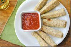 Eat Yourself Skinny -- Baked Zucchini Sticks 2