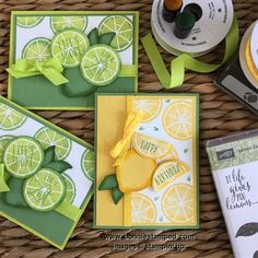 The Lemon Zest Bundle card hits the spot! The Lemon Zest Stamp Set has bold shapes and paired with bright colors makes me want to drink some lemonade. Stampin Up Anleitung, Stampin Up Karten, Lemon Crafts, Stampin Up Catalog, Stamping Up Cards, Paper Cards, Recipe Cards, Cute Cards, Scrapbook Cards