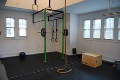 Crossfit Garage Gym. Do you have a need for garage storage ideas? Let us be a resource http://garagesmart.com.au/