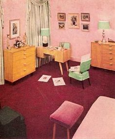 1946 MID CENTURY MODERN home decorating Rockow book Heywood Wakefield furniture by populuxe on Etsy https://www.etsy.com/listing/98042502/1946-mid-century-modern-home-decorating