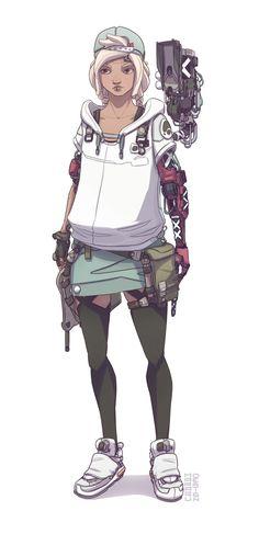 ArtStation - Character design - Kamy, t r