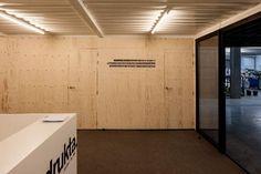 Kantoor van zeecontainers in Kortrijk - alle projecten - projecten - de Architect