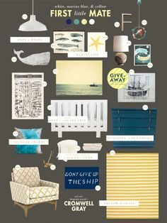 gender neutral nautical nursery
