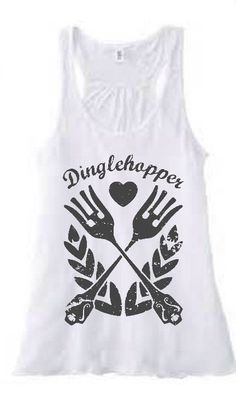 Dinglehopper shirt or tank by CavewomanDesign on Etsy