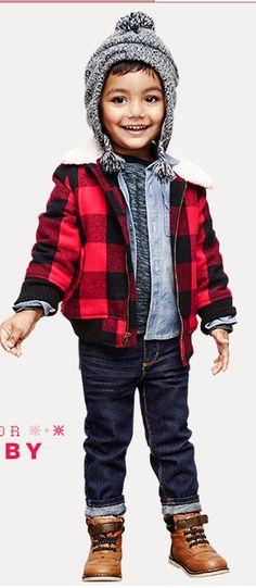 I wanna dress my kid like this someday haha