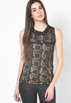 Party #Sleeveless Self Design #Women'sTop #Indianfashion #Sexy #Women #Fashion #look #style #GIft #Shop #Buy #online #india