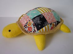 make a pillow or floor pillow like this for Callie using the fabric scraps from other projects