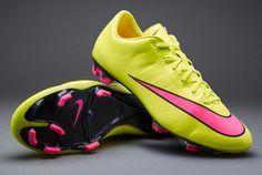 ebd155347850 Nike Mercurial Veloce II FG - Volt Hyper Pink Black