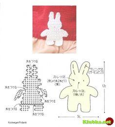 Crochet Rabbit - Chart