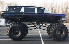 1961 Cadillac Fleetwood Monster Truck Hearse - Gallery: 25 Tricked-Out Hearses We're Dying To Ride In   Complex