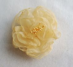 OnePerfectDay: How To Make A Peony Fabric Flower