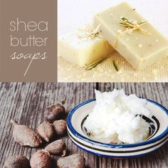 Homemade Shea butter Soap and others