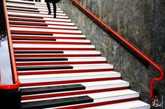 Piano stairs in Milan