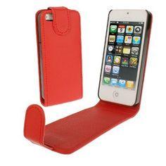 Handytasche Klapptasche für Iphone 5 in Rot von CNP