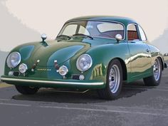 1957 Porsche 356 Carrera GS via doyoulikevintage Classic and antique cars. Sometimes custom cars but mostly classic/vintage stock vehicles. Porsche 356 Outlaw, Porsche 356 Speedster, Porsche 356a, Porsche Carrera, Porsche Classic, Classic Sports Cars, Classic Cars, Retro Cars, Vintage Cars