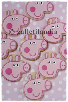 Peppa Pig {by Paula, Galletilandia}