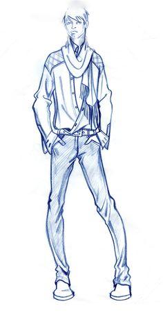 Fashion Sketches/Paul Keng