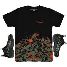 d6695988a4e Foamposite Sequoia Bottom Medusa Sneaker Match Shirt