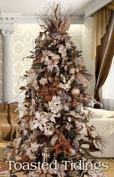 Tendencias para decorar tu arbol de navidad 2016-2017