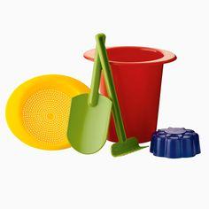 Bio-Sandspielzeug, biologisch abbaubar