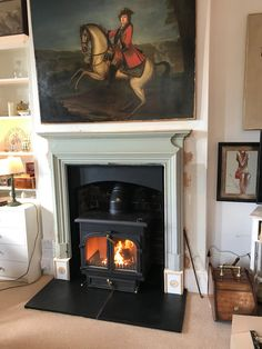 Clearview 650 stove, installed in the New Forest New Forest, Stoves, Wood Burning, Home Decor, Ovens, Interior Design, Home Interior Design, Stove, Home Decoration