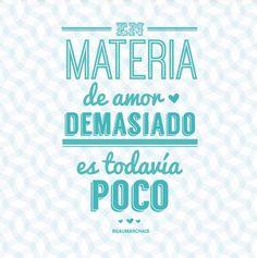 """""""En materia de #Amor, demasiado es todavía poco."""" #Beaumarchais #Citas #Frases @Candidman"""