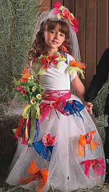 Arte De Fazer | Decoração e Artesanato: Noiva Caipira de festa junina