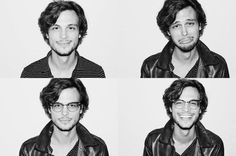 Um, also, there's his face. Just look at it doing different things. | Why Matthew Gray Gubler Is The Nerd Of Your Dreams