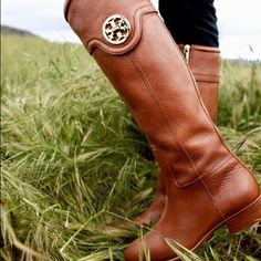 c9a86b73716d ✨HP✨Tory Burch Selma Riding Boots 8.5 Bought these from another seller in  used