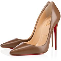 """Christian Louboutin So Kate """"Safki"""" N°4 ($675) ❤ liked on Polyvore featuring shoes, pumps, christian louboutin, louboutin, heels, safki, leather pumps, high heel pumps, court shoes and stilettos shoes"""