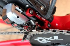 David Millar's Cervelo S3, Rotor chain catcher (Pic: George Scott/Factory Media)