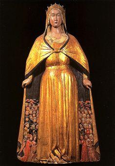 Madonna della Misericordia (Umbria, c. XV century), Bargello by M.LaFlaur, via Flickr