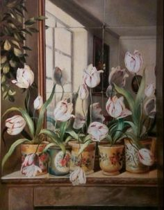 Fabrice de Villeneuve | Beautiful paintings/Flowers | Pinterest ...