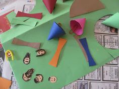 A Patchwork Life: Christmas craft - DIY Nativity