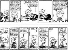 Le tengo un cariño especial a los personajes creados por Quino, sobre todo a Mafalda y a su hermano Guille. De pequeña devoraba sus viñetas ...