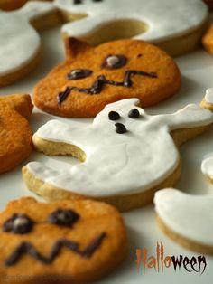 Trick or treat????? halloween biscuits