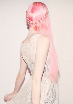 Long Pink Hair so beautiful