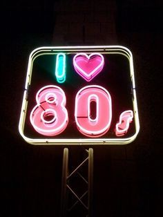 I love 80s.Neon Art//Neon LOVE!!!