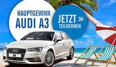Gewinne mit dem Lidl Wettbewerb und ein wenig Glück einen Audi A3 im Wert von CHF 35'000.- , Reisegutscheine im Gesamtwert von CHF 13'000.- , sowie 4 mal einen Lidl Einkaufsgutschein im Wert von je CHF 150.- http://www.alle-schweizer-wettbewerbe.ch/gewinne-einen-audi-a3-und-mehr/