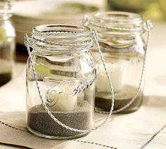 mom2mom cafe: Mason Jar Lanterns